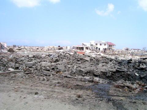 スマトラ沖大地震・津波災害救援対策本部被災地調査団『報告書』