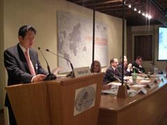 民主党連合国際会議「民主党のための新たな世界的課題」 出席報告