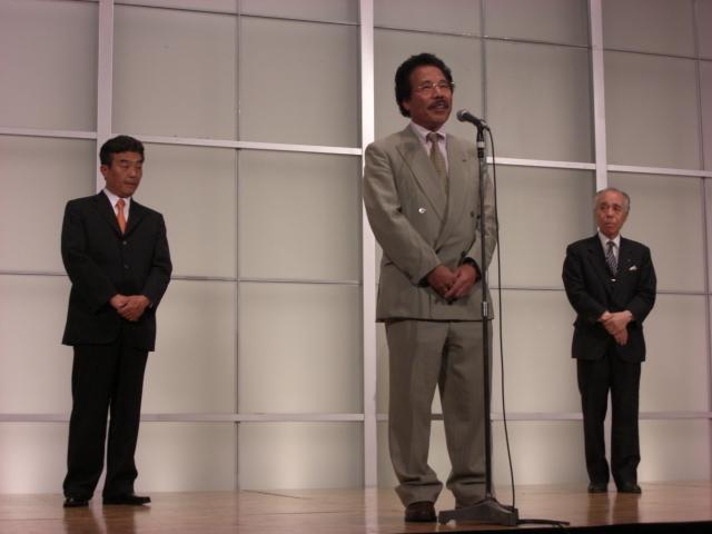 藤田幸久再発進の集い