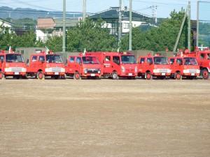 高萩市消防団出初式