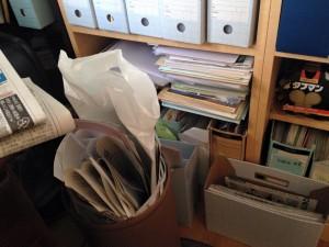 大晦日恒例の書類整理