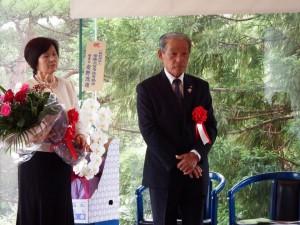 JA常陸野上昭雄組合長就任祝賀会に出席