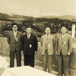 1956年日立市庁舎 竣工式典