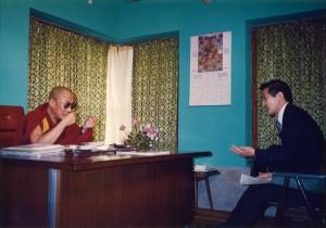 1991年ダライ・ラマと単独会見