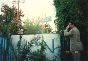 1993年11月18日キプロスの首都ニコシアは中心部を国連が壁を築き、ギリシア系とトルコ系住民が分断されている3