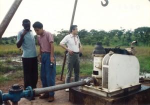井戸掘プロジェクトの現場