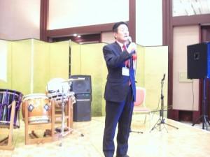 2009年8月 常磐大学シンポジウム「被害者学と人間の安全」レセプション。右はタイの王女。