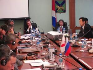 2010年9月 ウラジオストック国際会議。