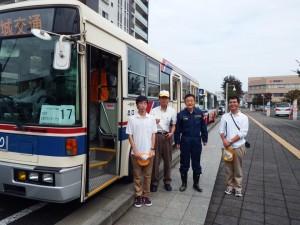 茨城交通労組大会で挨拶しました「素晴らしい取り組みに対してお礼」