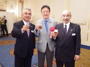 茨城県倫理法人会目標達成記念式典に出席しました
