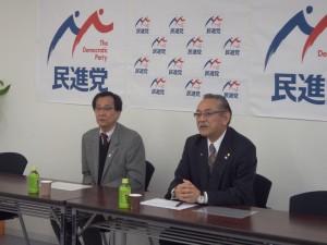 民進党茨城県連主催で「ご意見・ご要望を聴く会」を開催しました