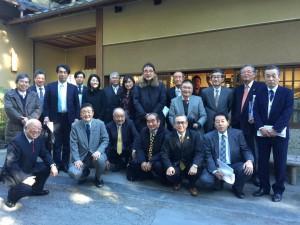 笠間稲荷神社の正徳講の皆さんと初詣をさせて頂きました