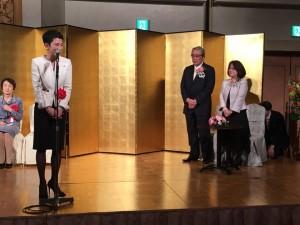 斎藤勁元内閣官房副長官の受賞祝賀会が開かれました
