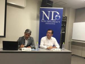新外交イニシアチブによる訪米報告会に出席しました