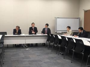 沖縄等米軍基地問題協議会の省庁ヒアリングを行いました