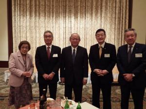 茨城新聞新春合同政経懇話会に出席しました