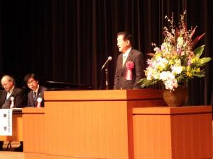 茨城大学教育学部附属中学校の統合60周年記念式典に出席しました