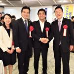 「衆議院議員浅野さとし君を育てる会」が開催され、玉木雄一郎国民民主党代表が応援にかけつけました