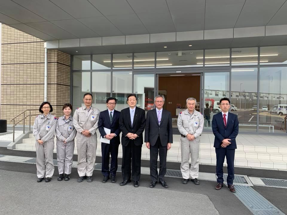 東京ガス『日立LNG基地』を視察しました