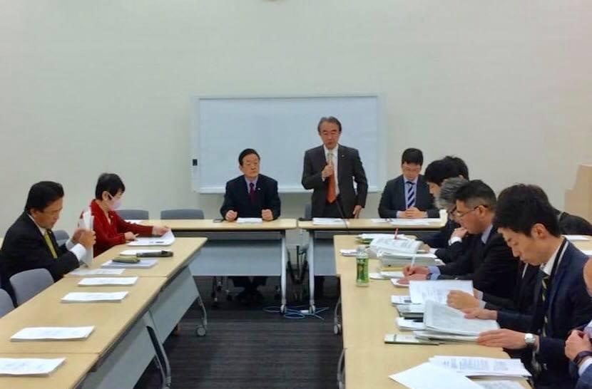 沖縄等米軍基地問題議員懇談会に参加しました。