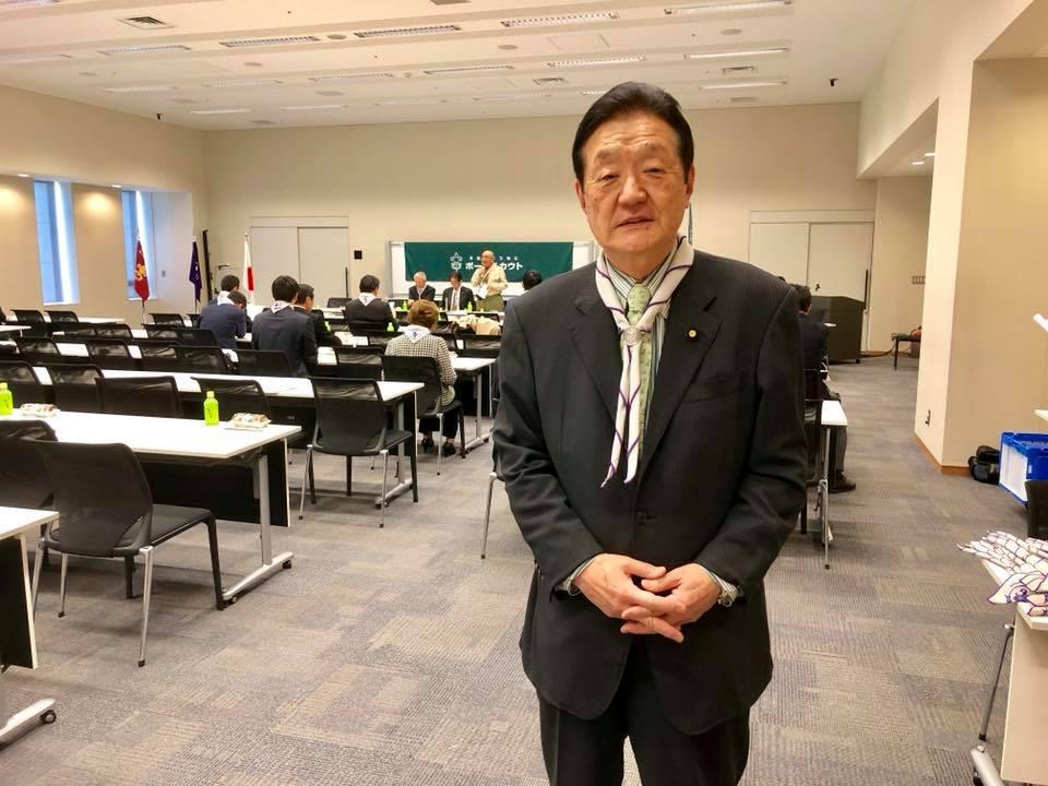 ボーイスカウト議連総会に行って参りました。