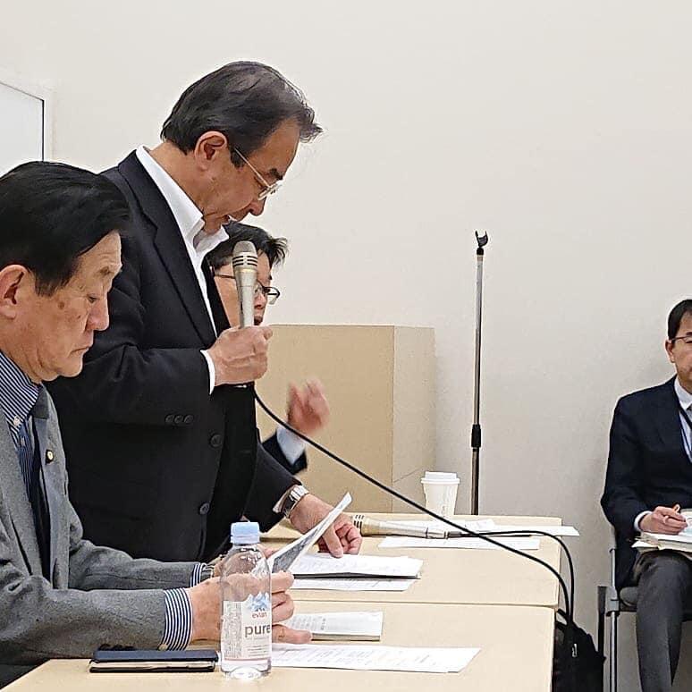 12日に、沖縄等米軍基地問題議員懇談会を開催しました