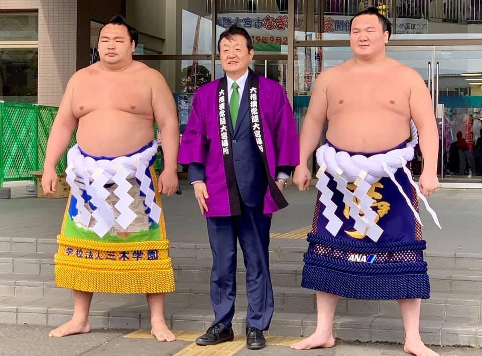 大相撲常陸大宮場所が開催されました