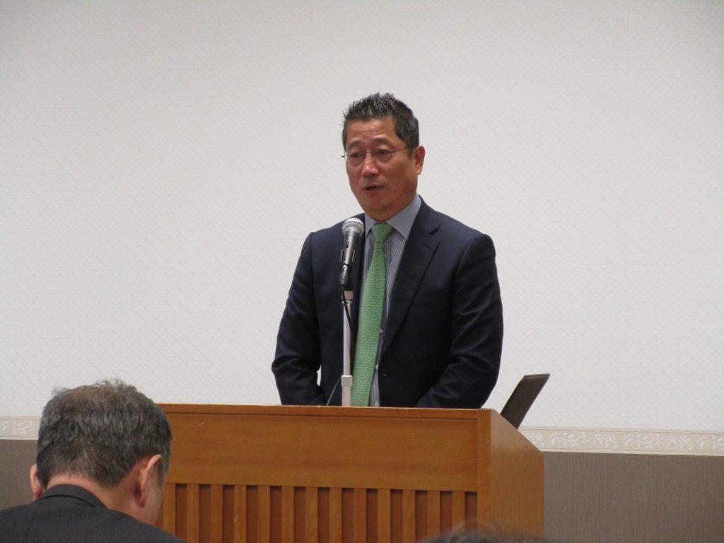 【藤田幸久政経フォーラムを開催しました】
