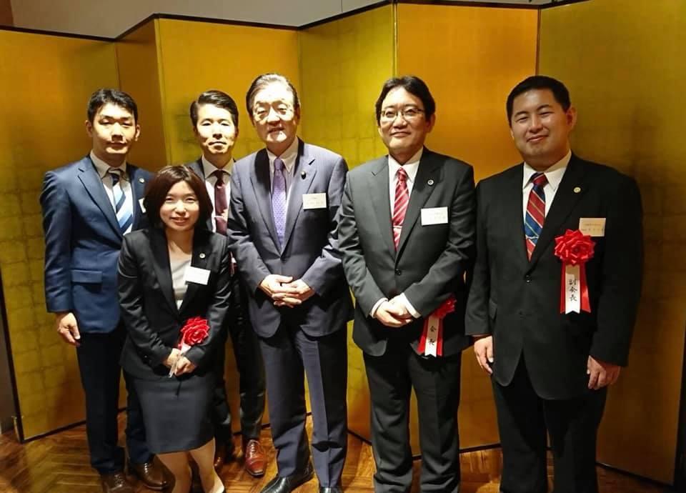 茨城県弁護士会役員就任パーティに出席しました