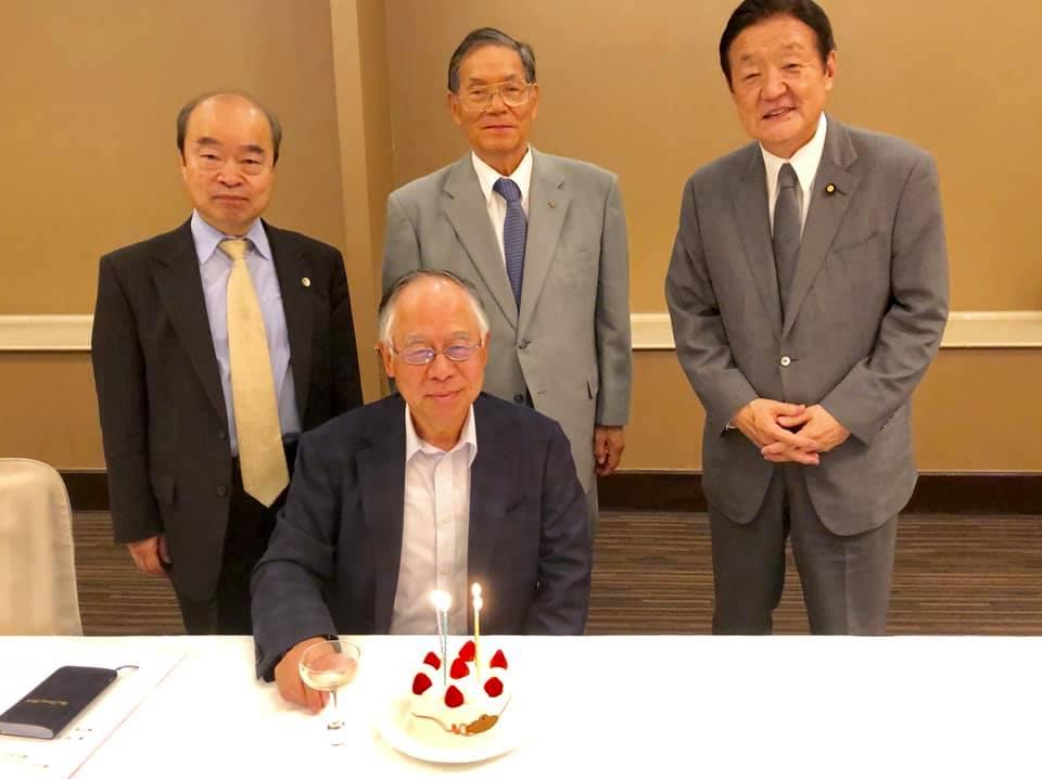 篠原勉後援会長の誕生日