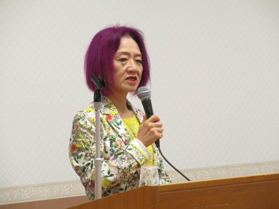 藤田幸久政経フォーラムで同志社大学浜矩子教授講演