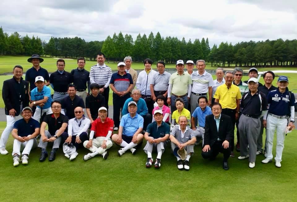 知道会ゴルフ大会と日本ベトナム友好協会茨城連合