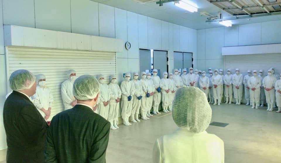 食品工場 訪問