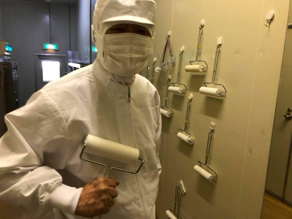 先日はエンゼルフーズの工場を視察しました