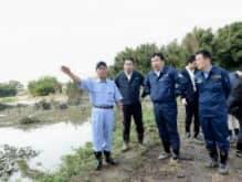 無堤防地域が、久慈川73%、那珂川63%、鬼怒川57%