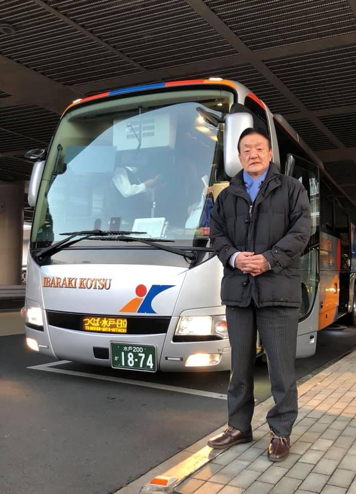 夜行バスで名古屋から水戸駅に