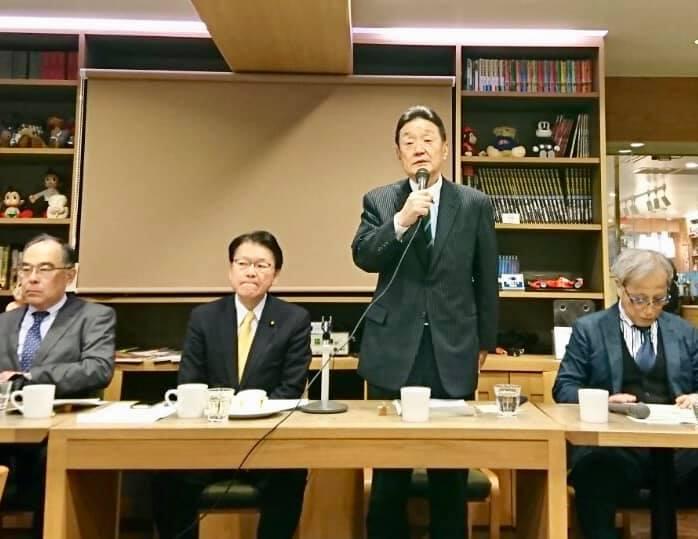 藤田幸久政経フォーラムを再開
