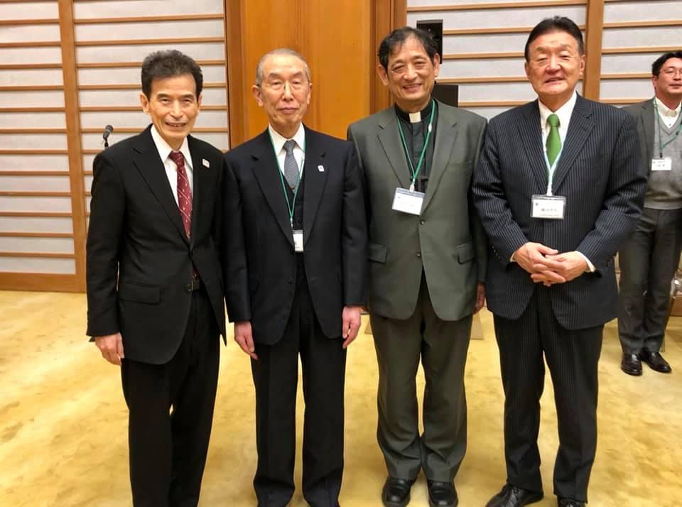 世界宗教者平和会議(WCRP)日本委員会の新春の集いに出席