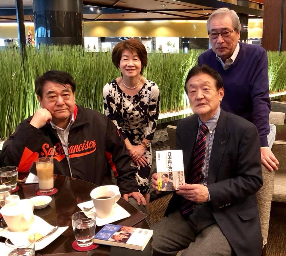寺島実郎さんが「日本再生の基軸が」を出版