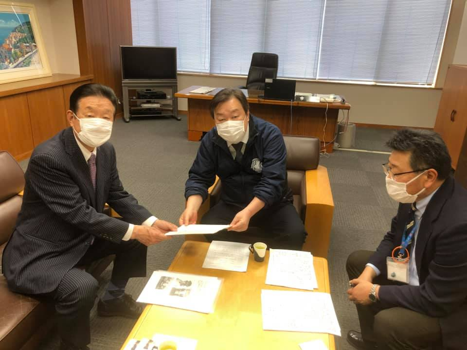 神栖市石田進市長、保健所や医療施設との連携協力に意欲