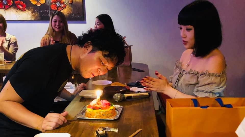 Dining Bar Bo Bo 小岩井英行さんの誕生日