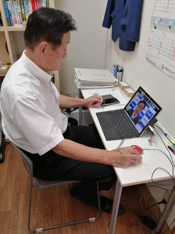枝野幸男代表他とのオンライン会議