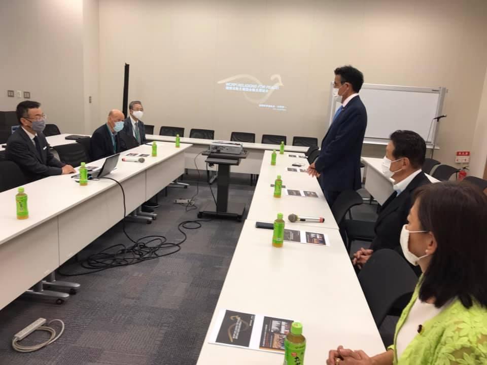 世界宗教者平和会議(WCRP)杉野恭一副事務総長の活動報告