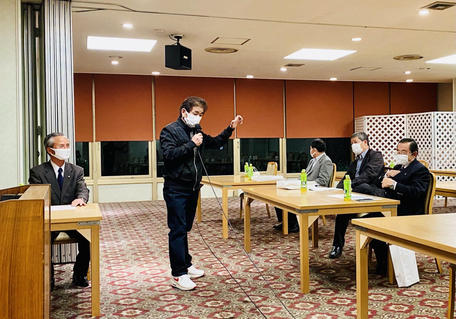 潮来市と茨城町で後援会連絡会議を開催