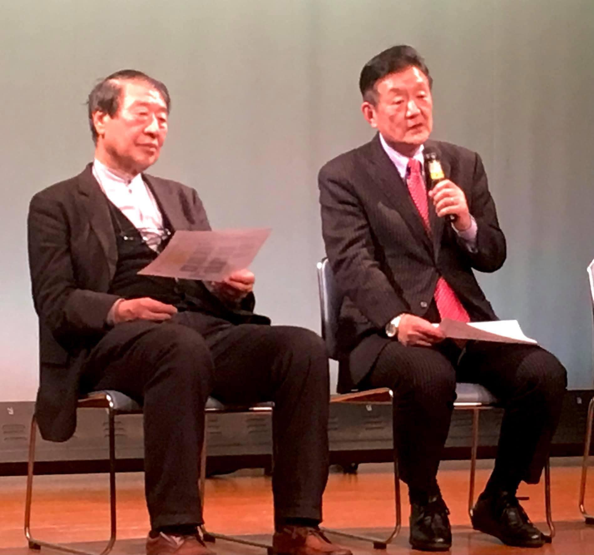 10月17日 山田正彦元農水大臣応援。