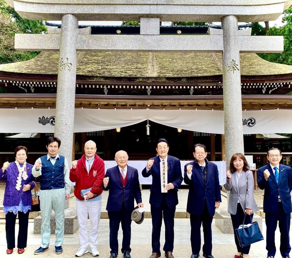 『戦いの神』鹿島神宮で必勝祈願を行いました。