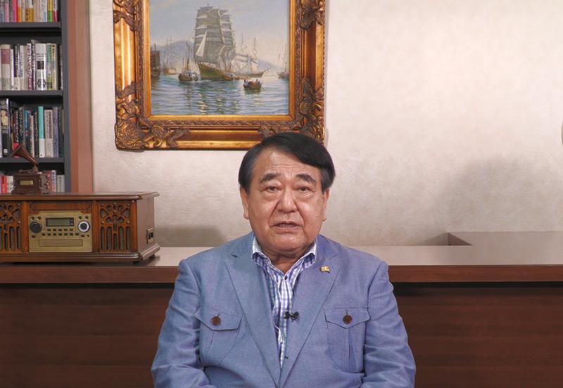 寺島実郎、藤田幸久の国政復帰を応援
